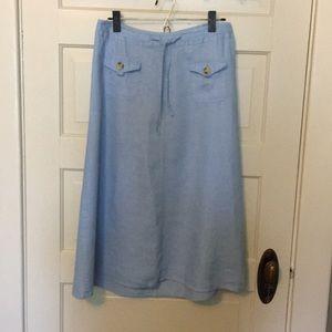 Elegant Linen Skirt